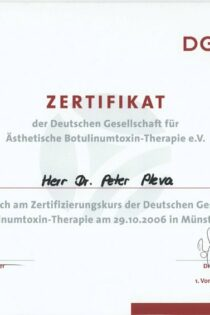 Certifikát 13