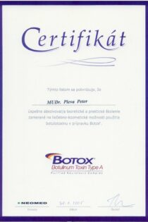 Certifikát 15