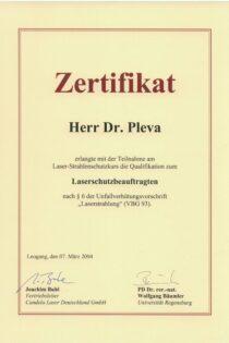 Certifikát 21